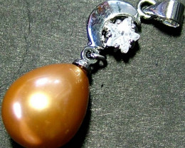 GOLD PEARL PENDANT 20.60 CTS [PF266]