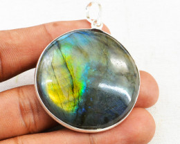 Amazing Flash Labradorite Pendant