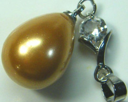 GOLD PEARL PENDANT 18.65 CTS [GT857 ]