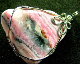 RHODOCHROSITE WIRE WRAPPED 46.50 CTS [GT350 ]