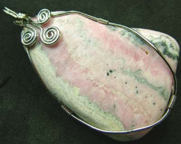 RHODOCHROSITE WIRE WRAPPED 117.40 CTS [GT329 ]
