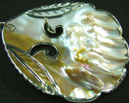 PEARL SHELL PENDANT 71 CTS [MX2050 ]