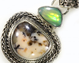 33.25 CTS TIFFANY PENDANT AND OPAL -FACTORY DIRECT [SJ4622]
