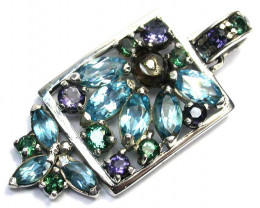 GEMSTONES PENDANT DIRECT FROM FACTORY 52.55 CTS [SJ1195]