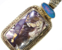 101.00 CTS TIFFANY PENDANT AND OPAL -FACTORY DIRECT [SJ4632]