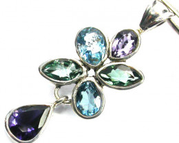 GEMSTONES PENDANT DIRECT FROM FACTORY 17.35 CTS [SJ1201]