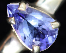 9 RING SIZE TANZANITE SILVER RING [SJ4675]