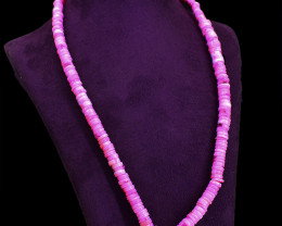 Exclusive Pink Opal Beads Necklace
