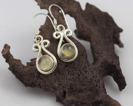Citrine earrings sheppard hook   AM579
