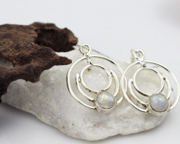 Moonstone earrings sheppard hook   AM595