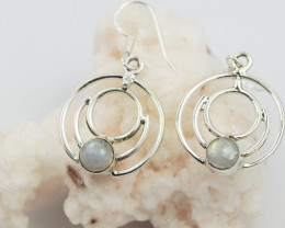 Moonstone earrings sheppard hook   AM596