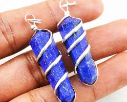 Lapis Lazuli Healing Point Pendant Lot