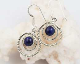 Lapis Lazuli earrings sheppard hook   AM598