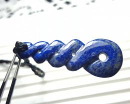 34.2 cts Beautiful Lapis Lazuli Pendant.