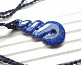 33.8 cts Beautiful Natural Lapis Lazuli Pendant.