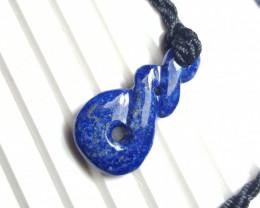 20.4  cts Beautiful Natural Lapis Lazuli Pendant.