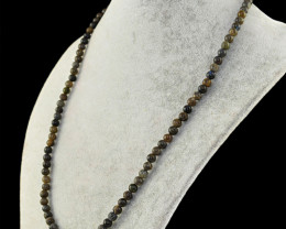 Amazing Flash Labradorite Round Beads Necklace
