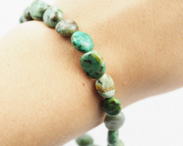 Natural Tribal Turquoise Bracelet   AM624