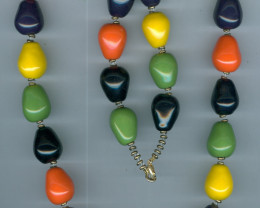 honey drops-navy, lime, lemon, pansy, orange c