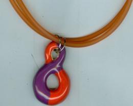 Pendant-R.Orange,Violet