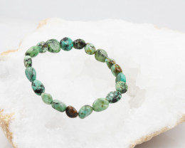 Natural Tribal turquoise Bead Bracelet  AM 708