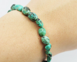 Natural Tribal turquoise Bead Bracelet  AM 709