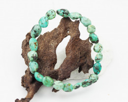 Natural Tribal turquoise Bead Bracelet  AM 710