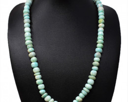 Amazonite Round Beads Necklace