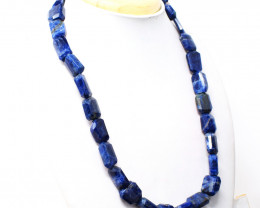 Sodalite Faceted Beads Necklace