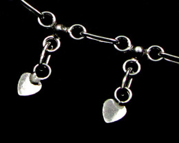 SILVER ANKLET 925 CHAIN 10 INCHES / 25 CM CMT 127