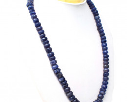 Blue Iolite Beads Necklace