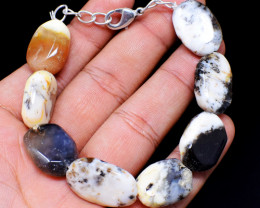 Exclusive Dendrite Opal Beads Bracelet