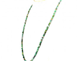 Peruvian Opal Faceted Beads Necklace