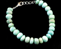 Round Amazonite Beads Bracelet