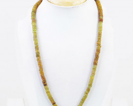 Green Garnet Beads Necklace