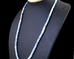 Blue Lace Agate Beads Necklace