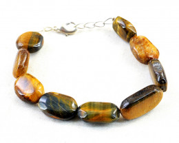 Golden Tiger Eye Beads Bracelet
