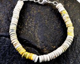 Bumble Bee Jasper Beads Bracelet