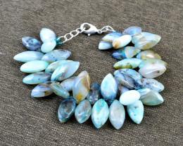 Peruvian Opal Beads Designer Bracelet