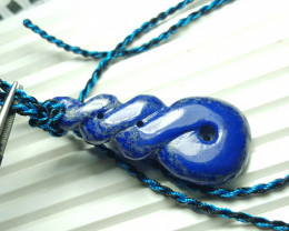 69.8  cts Beautiful Natural Lapis Lazuli Pendant.
