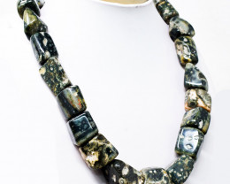 1126.00 Cts Ocean Jasper Tumble Beads Necklace