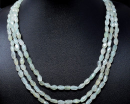 Aventurine Beads 3 Strands Necklace