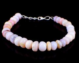 Pink Australian Opal Beads Bracelet
