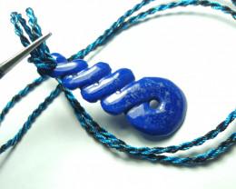 27 cts Beautiful Lapis Lazuli Pendant.