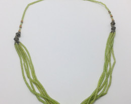 Green Jade Necklace 17 Gram