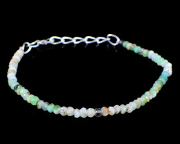 Peruvian Opal Faceted Beads Bracelet