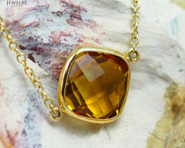 Stylish Citrine Bracelet in 18K Gold - 78 B 11514C 1500