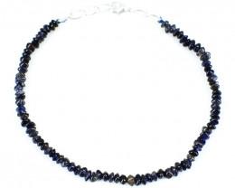 Red Garnet Faceted Beads Bracelet