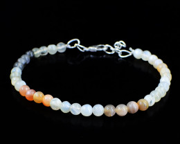 Multicolor Moonstone Beads Bracelet