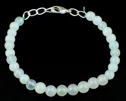 Green Aventurine Round Beads Bracelet